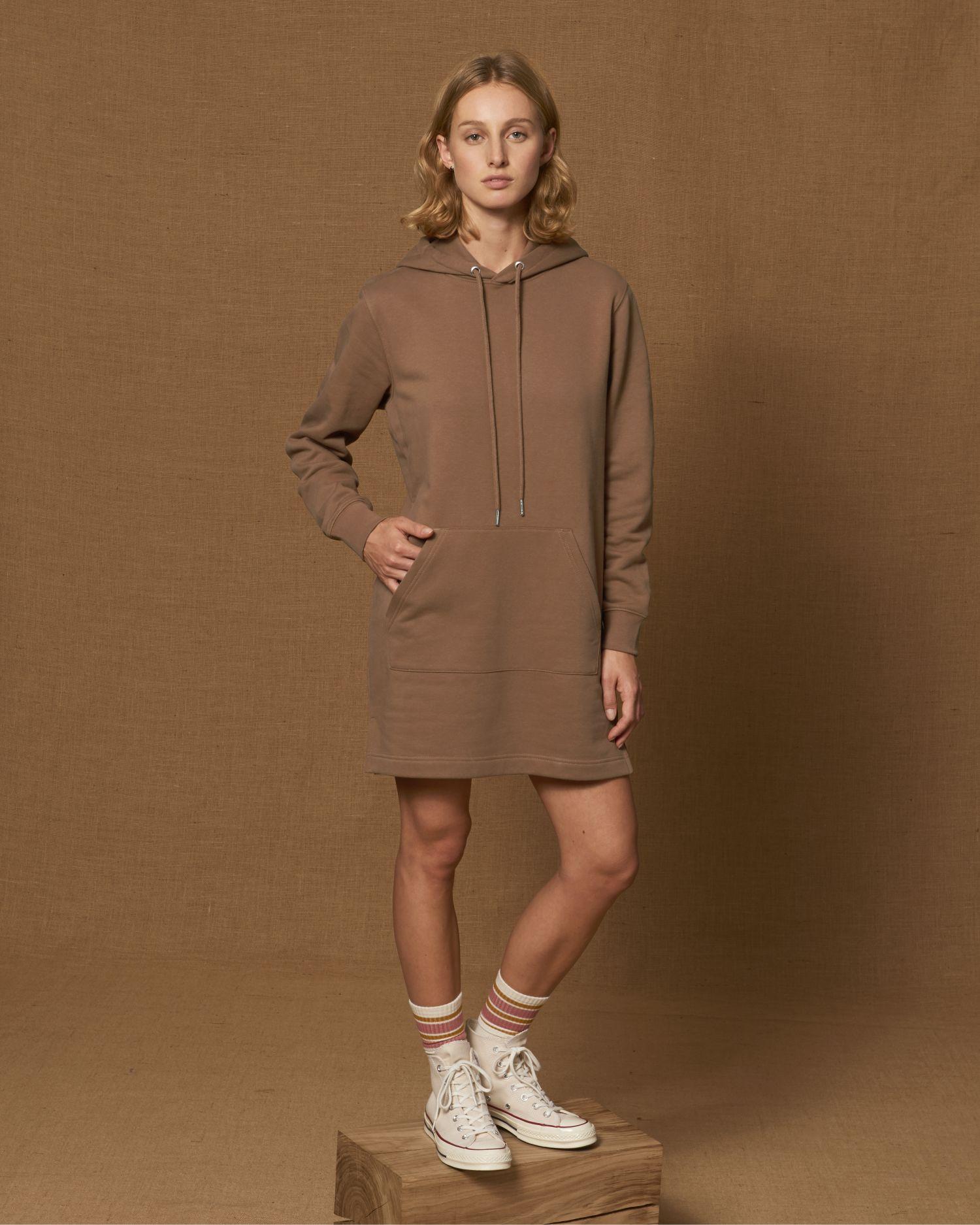 Stella Streeter - La robe sweat-shirt à capuche