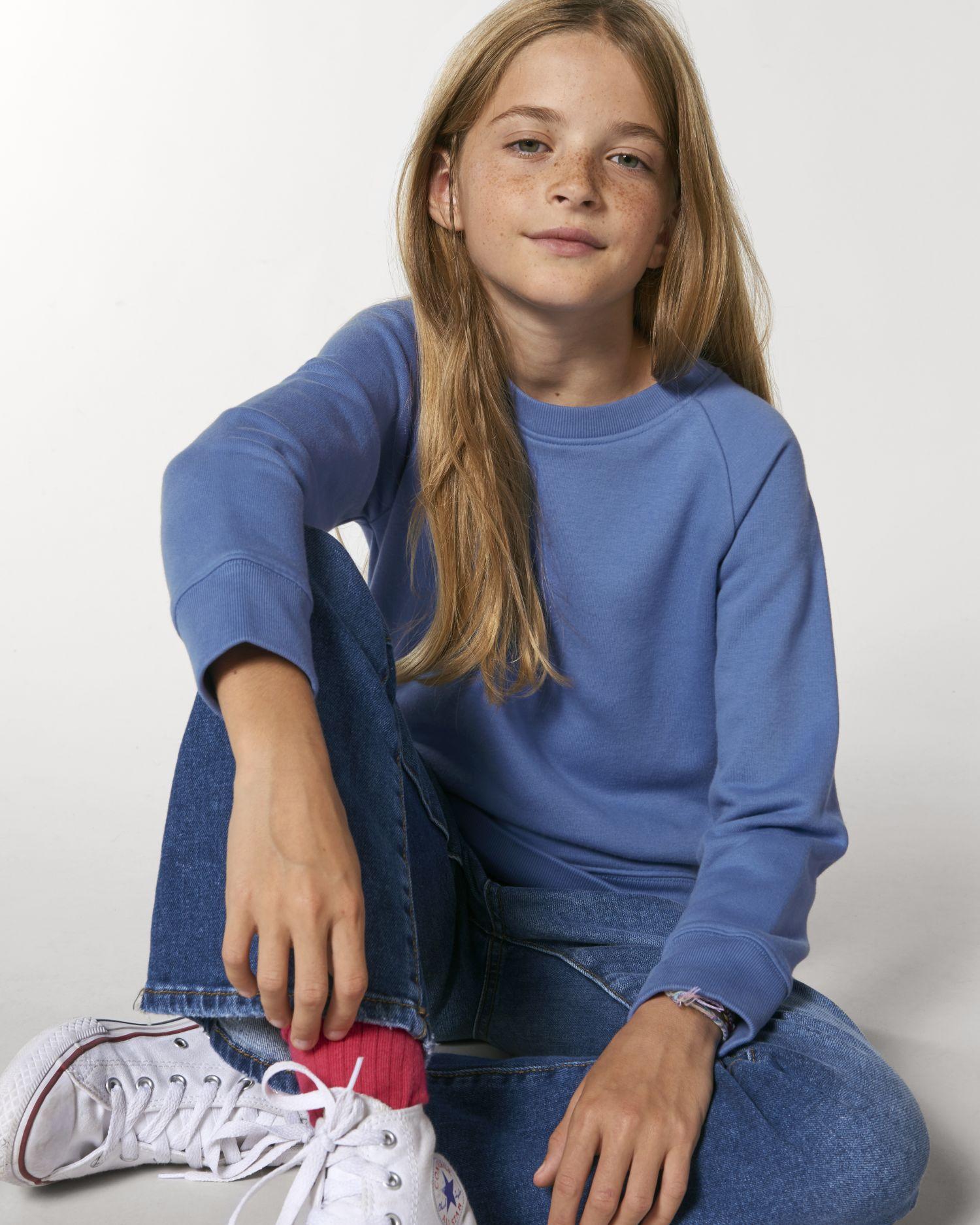 Mini Scouter - Le sweat-shirt col rond iconique enfant