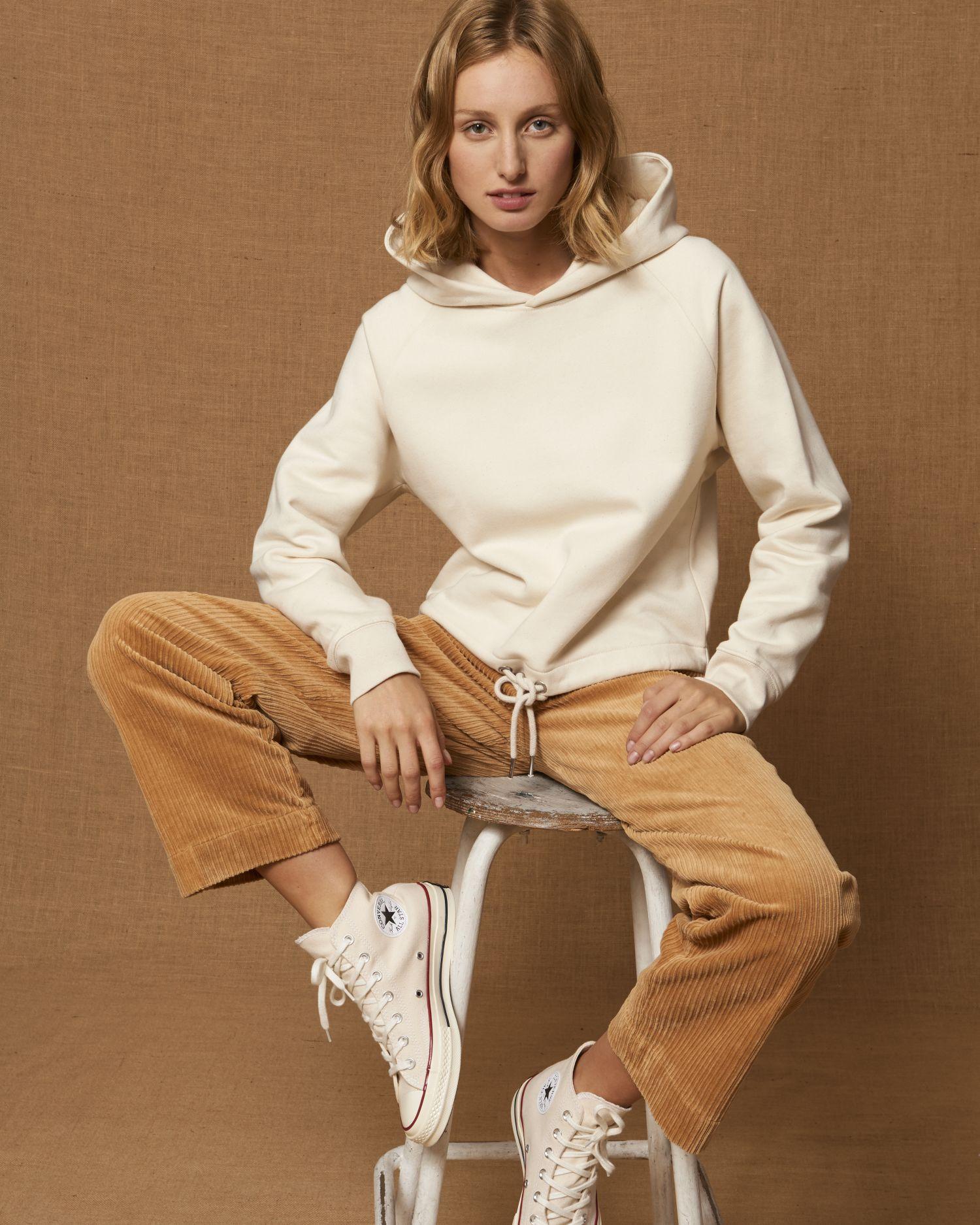 Stella Bower - Le sweat-shirt capuche court femme