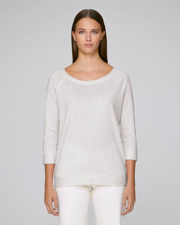 Stella Amazes Tencel - Le sweat-shirt tencel femme - Heather Grey