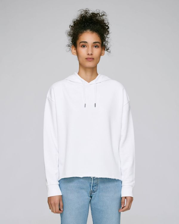Stella Reduces - Le sweat-shirt capuche court femme