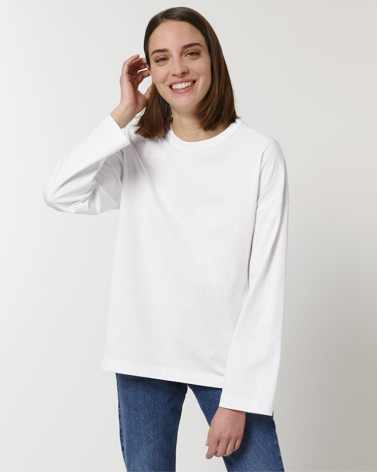 Triber Unisex Oversized Long Sleeve T-Shirt STTU790 Stanley/Stella
