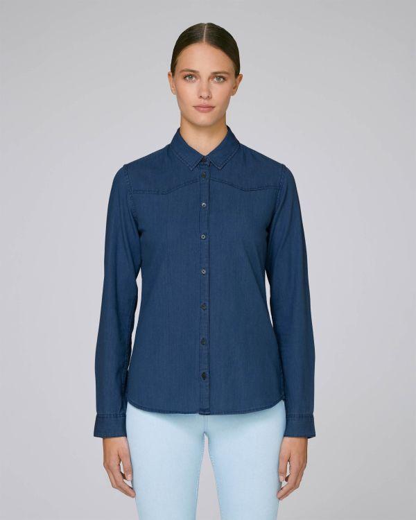 Stella Inspires Denim - La chemise denim femme