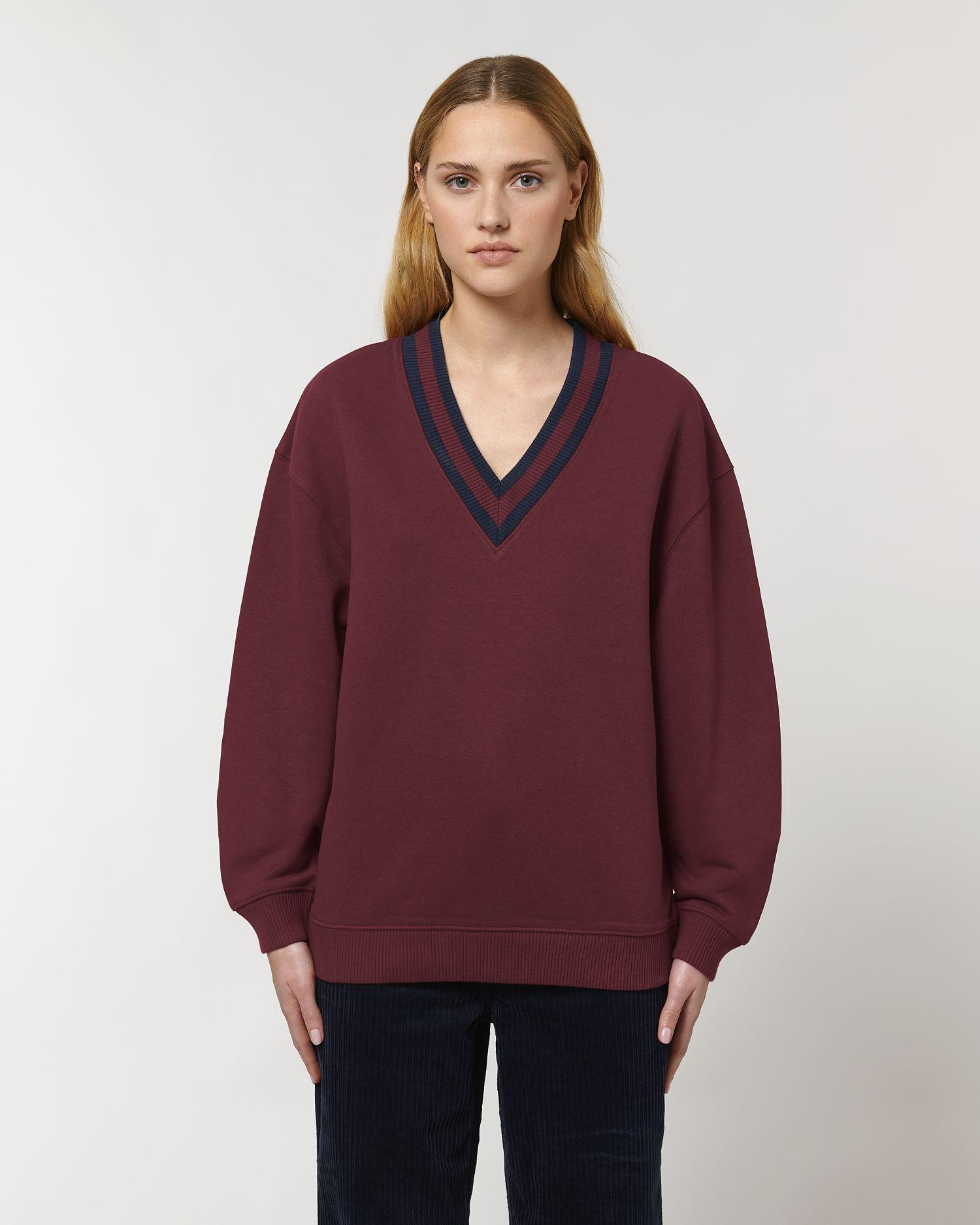 Sloaner Unisex V-Neck Sweatshirt STSU871 Stanley/Stella