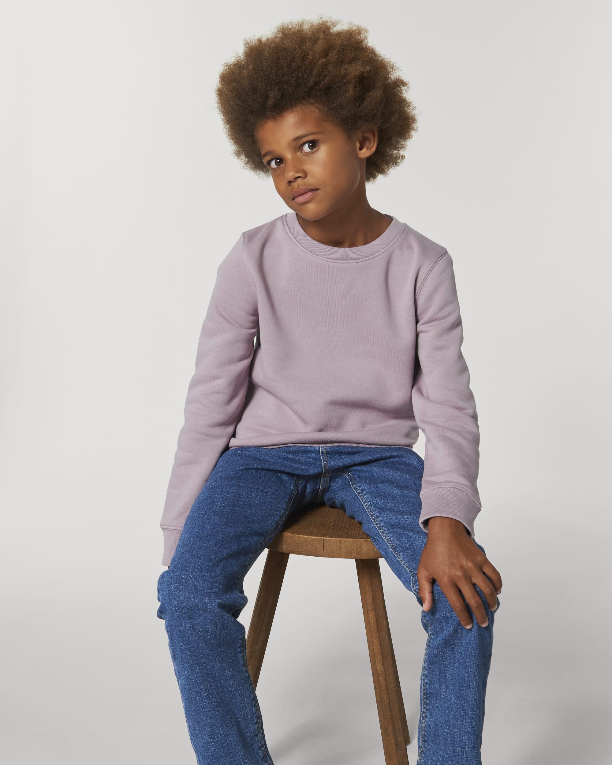 Iconic Kids Rundhals-Sweatshirt MINI CHANGER STSK913 Stanley/Stella