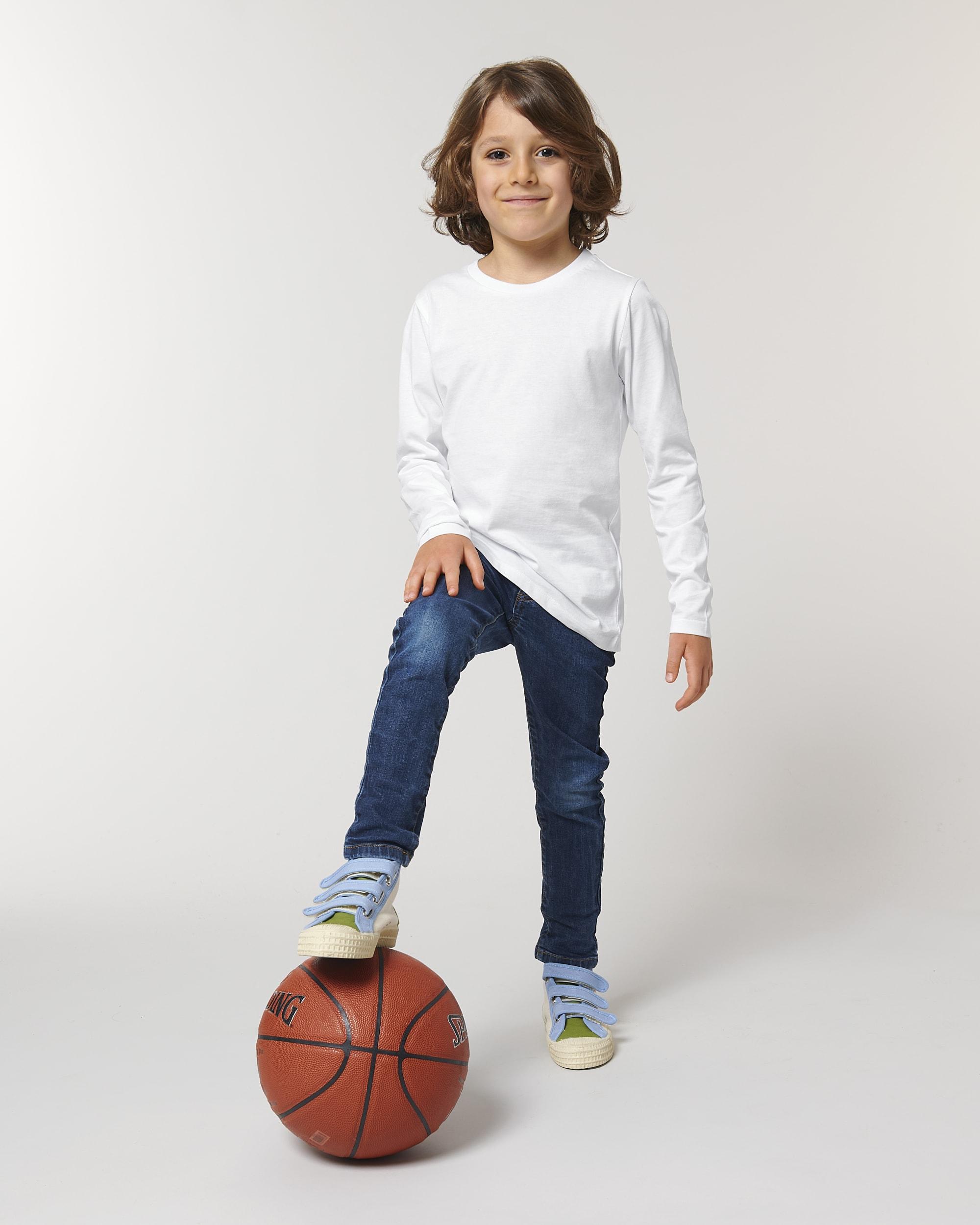 MINI HOPPER STTK907 Iconic Kinder T-Shirt mit langen Ärmeln Stanley/Stella