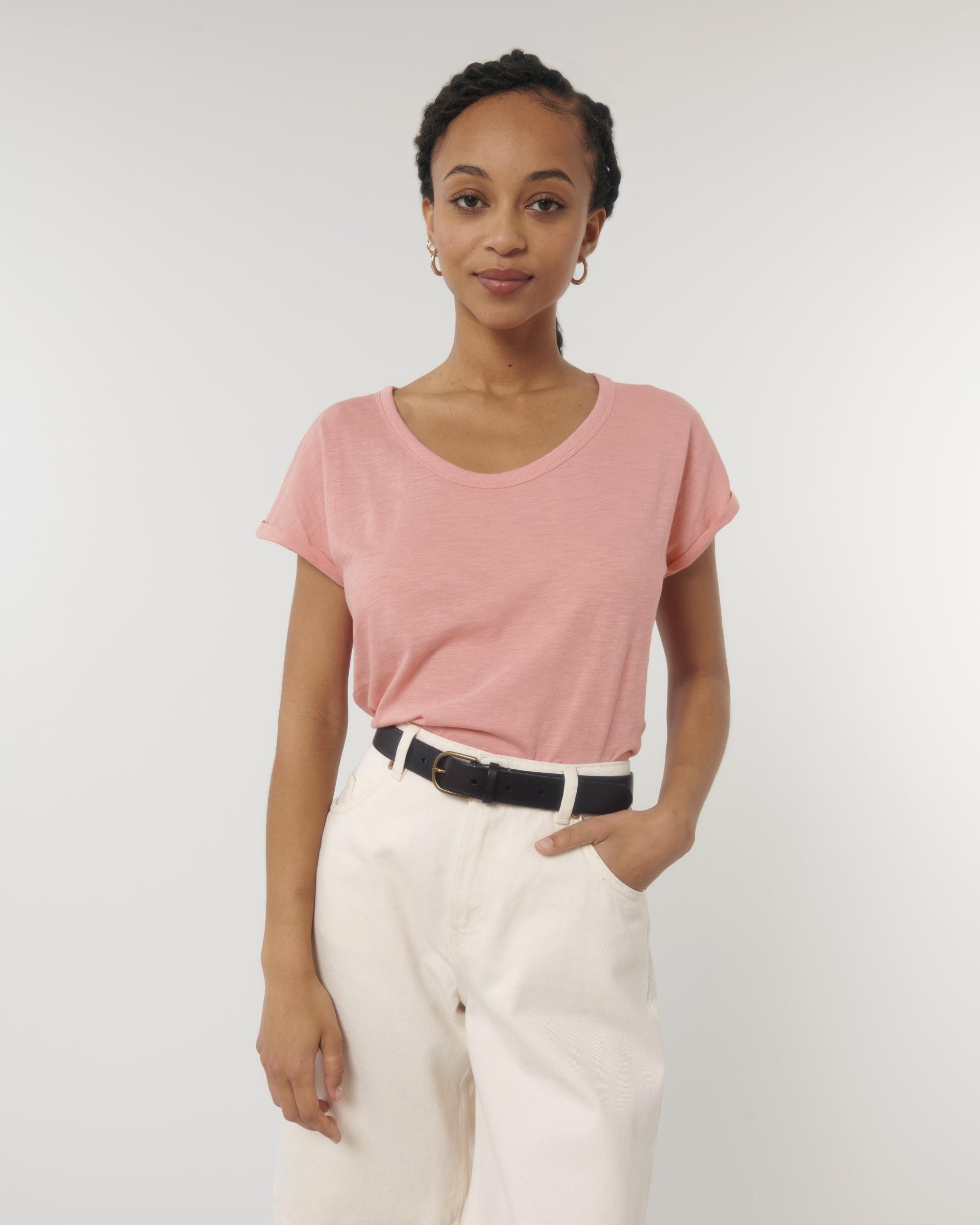 Stella Rounder Slub STTW112 Roll Up Shirt Stanley/Stella