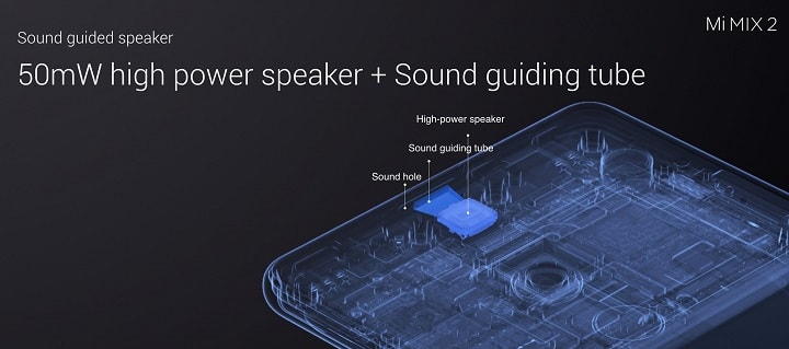 Xiaomi Mi Mix 2 Sound-guided Speaker Design – Detailed Review