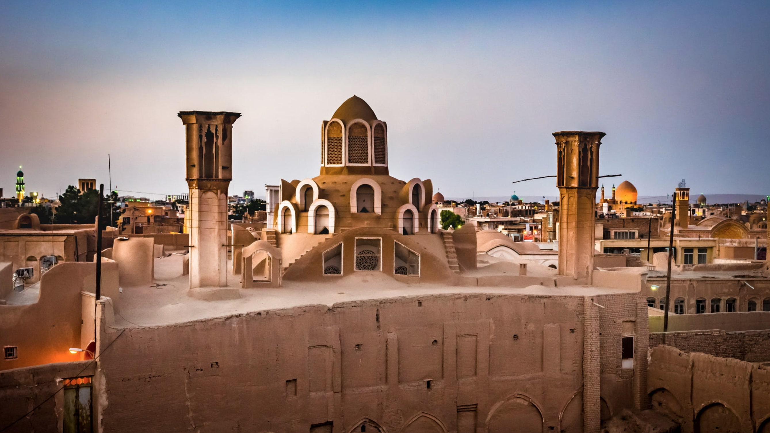 kashan historic houses
