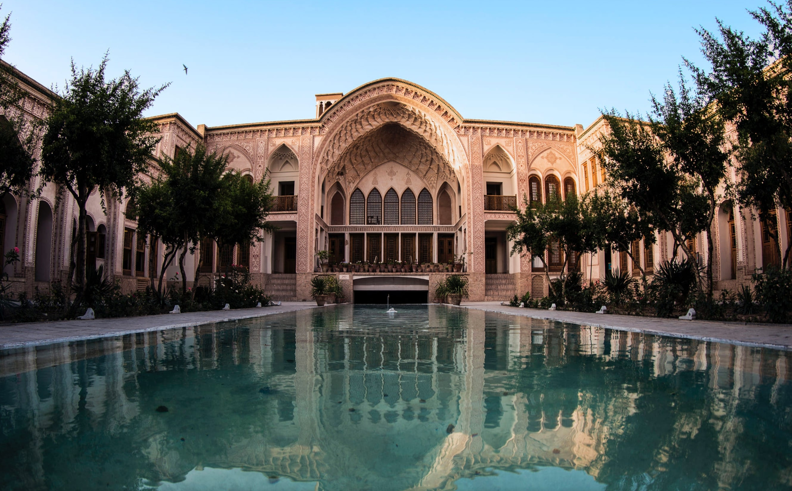 kashan historic mansions