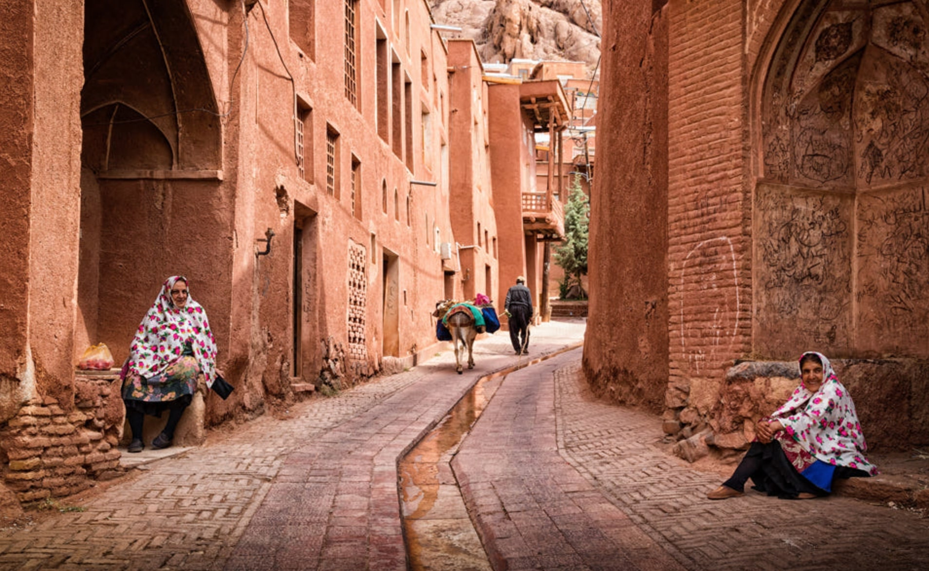 village of abyaneh iran