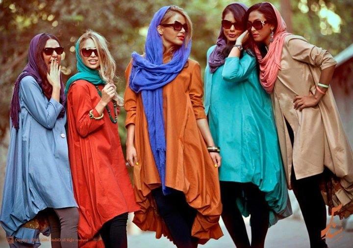 iranian way of dressing