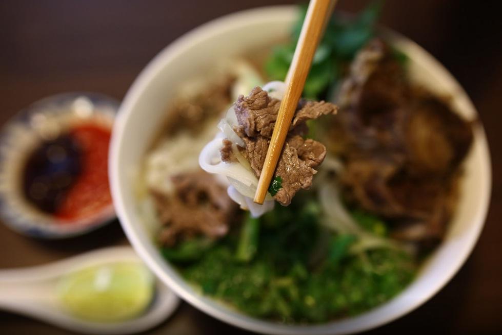 pho bo in Vietnamese cuisine