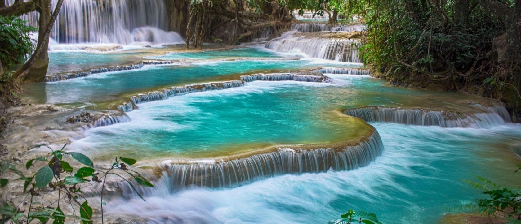 khoang si waterfall