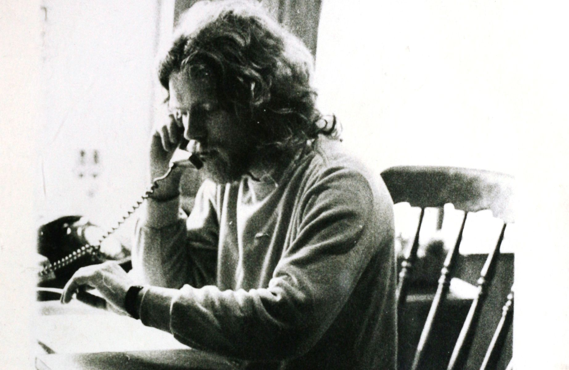 Richard Branson working early days