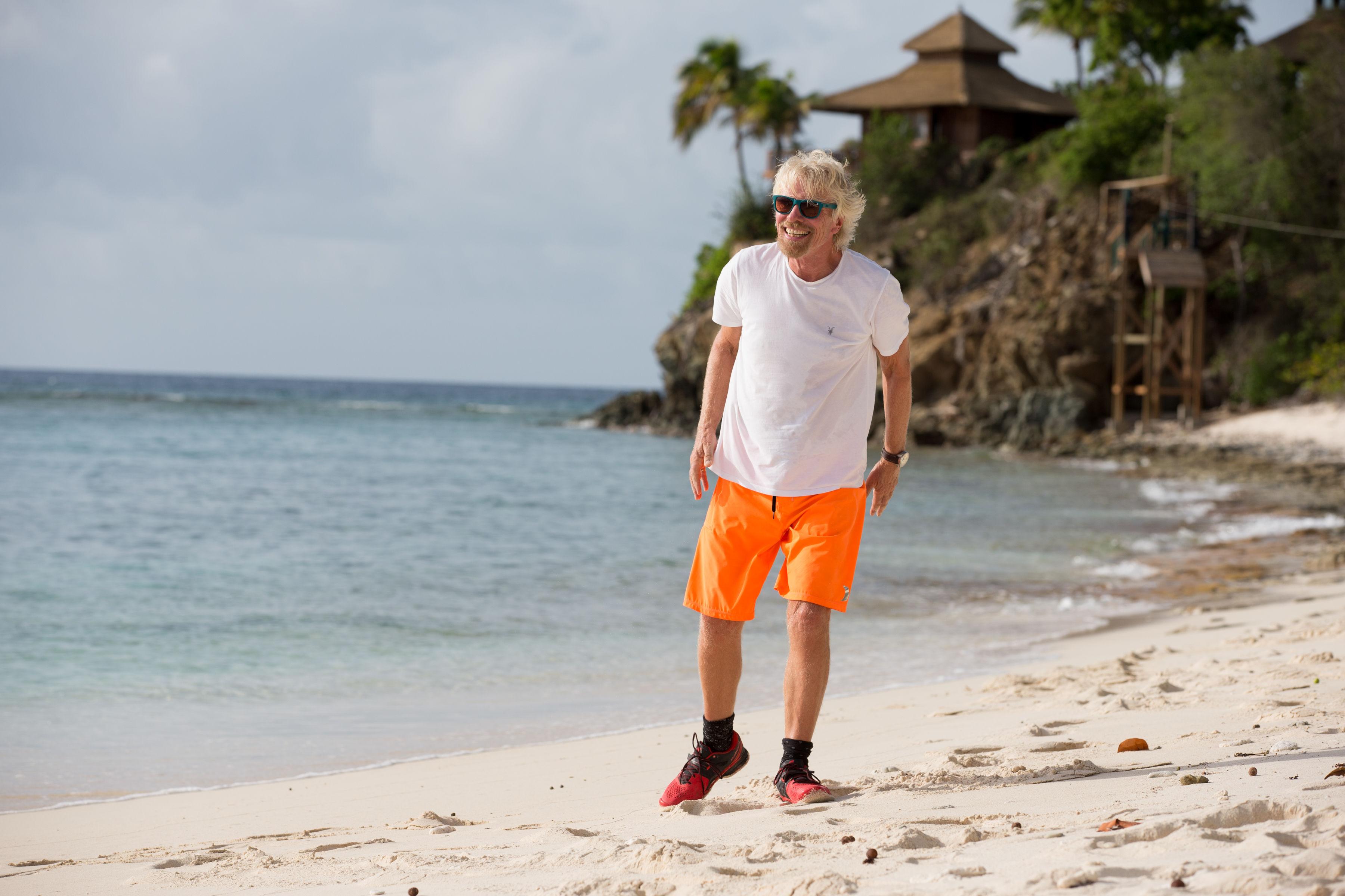 Richard Branson Tens Sunglasses Necker Island
