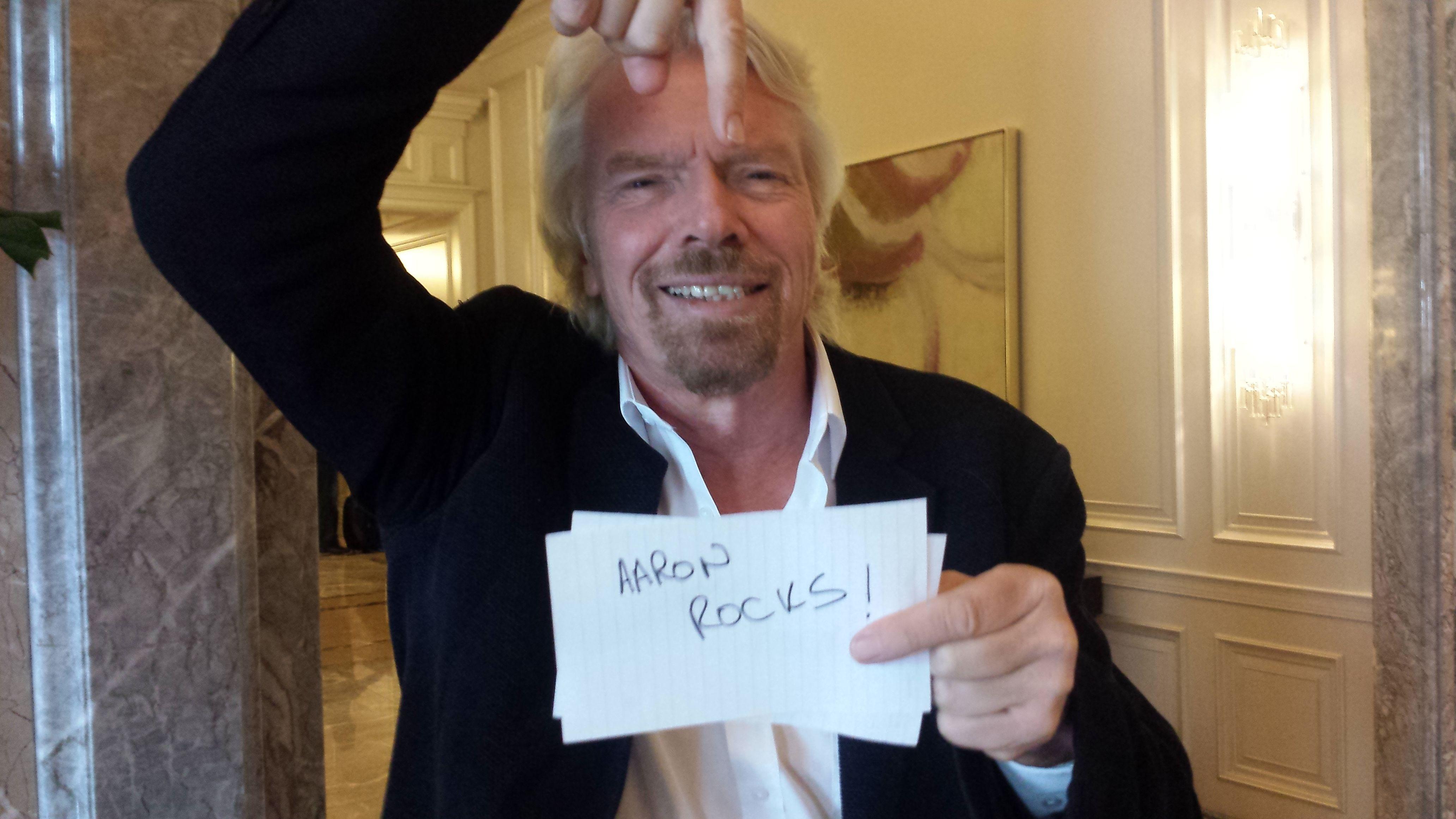 Richard Branson Virgin Mega
