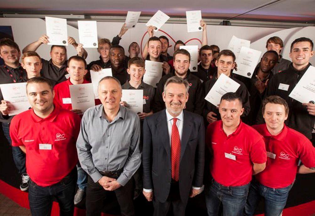 Virgin Media technicians
