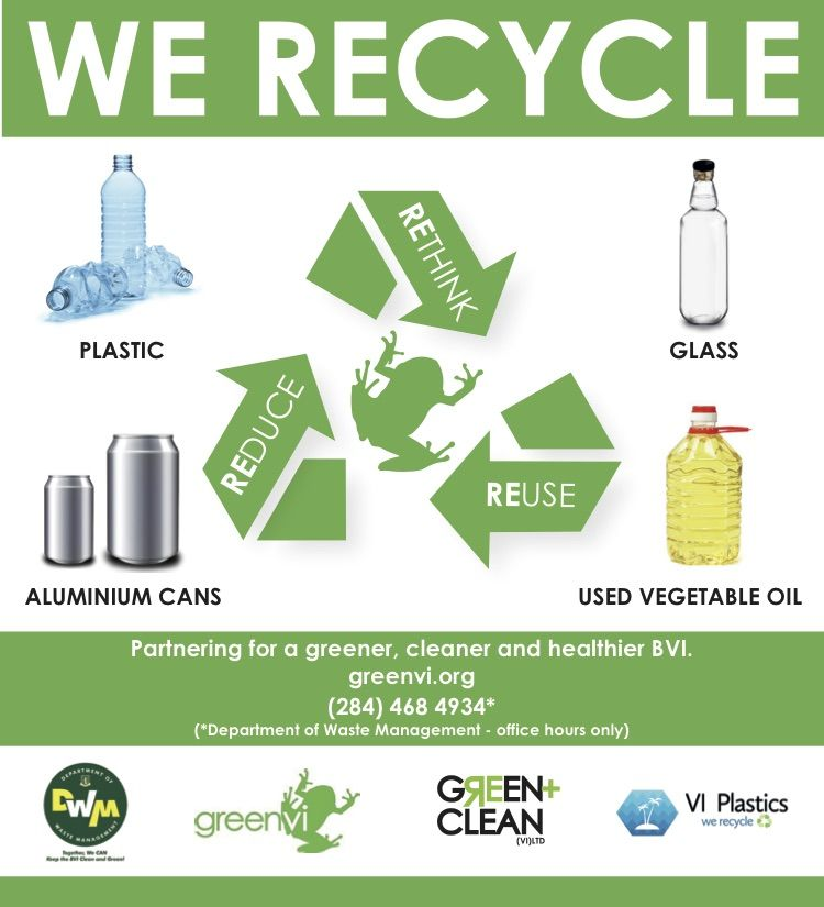 Virgin Unite, Unite BVI, Recycling