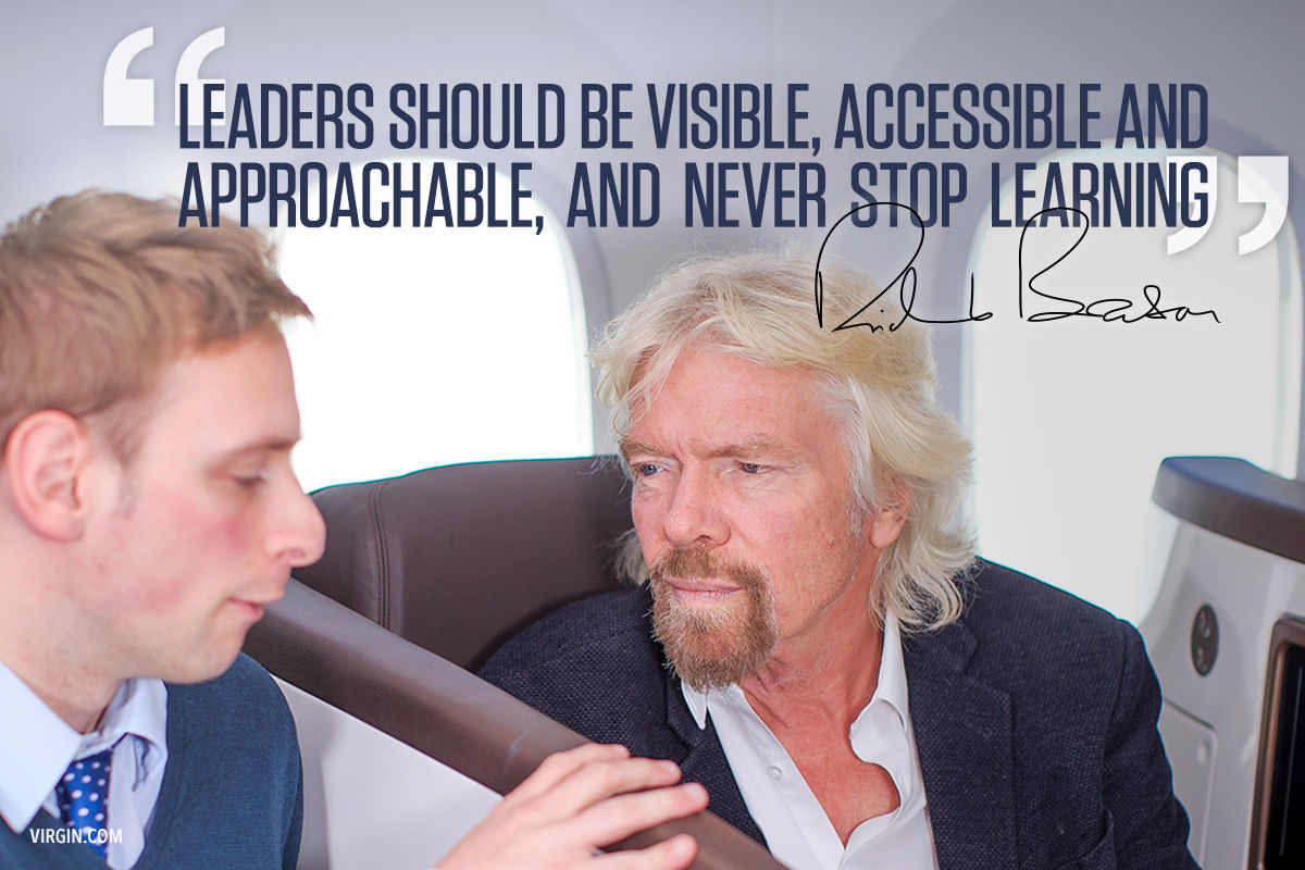 Leaders never stop learning | Virgin