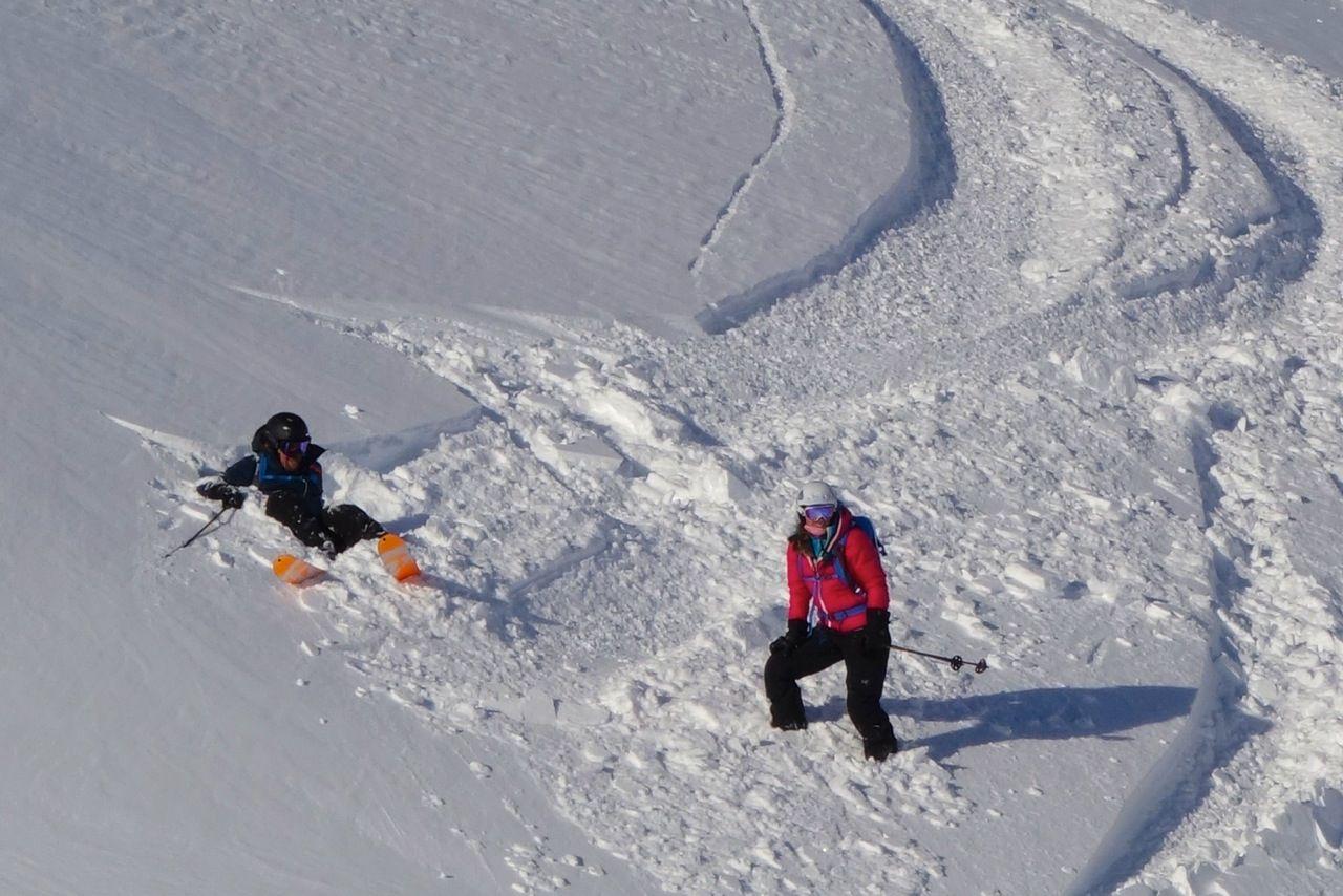 richard branson heliskiing in canada