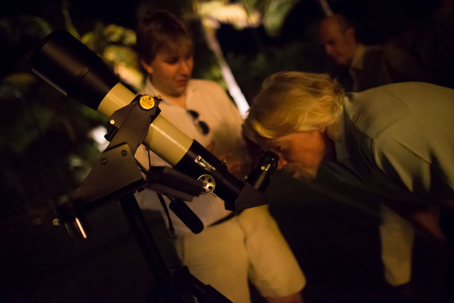 richard branson telescope