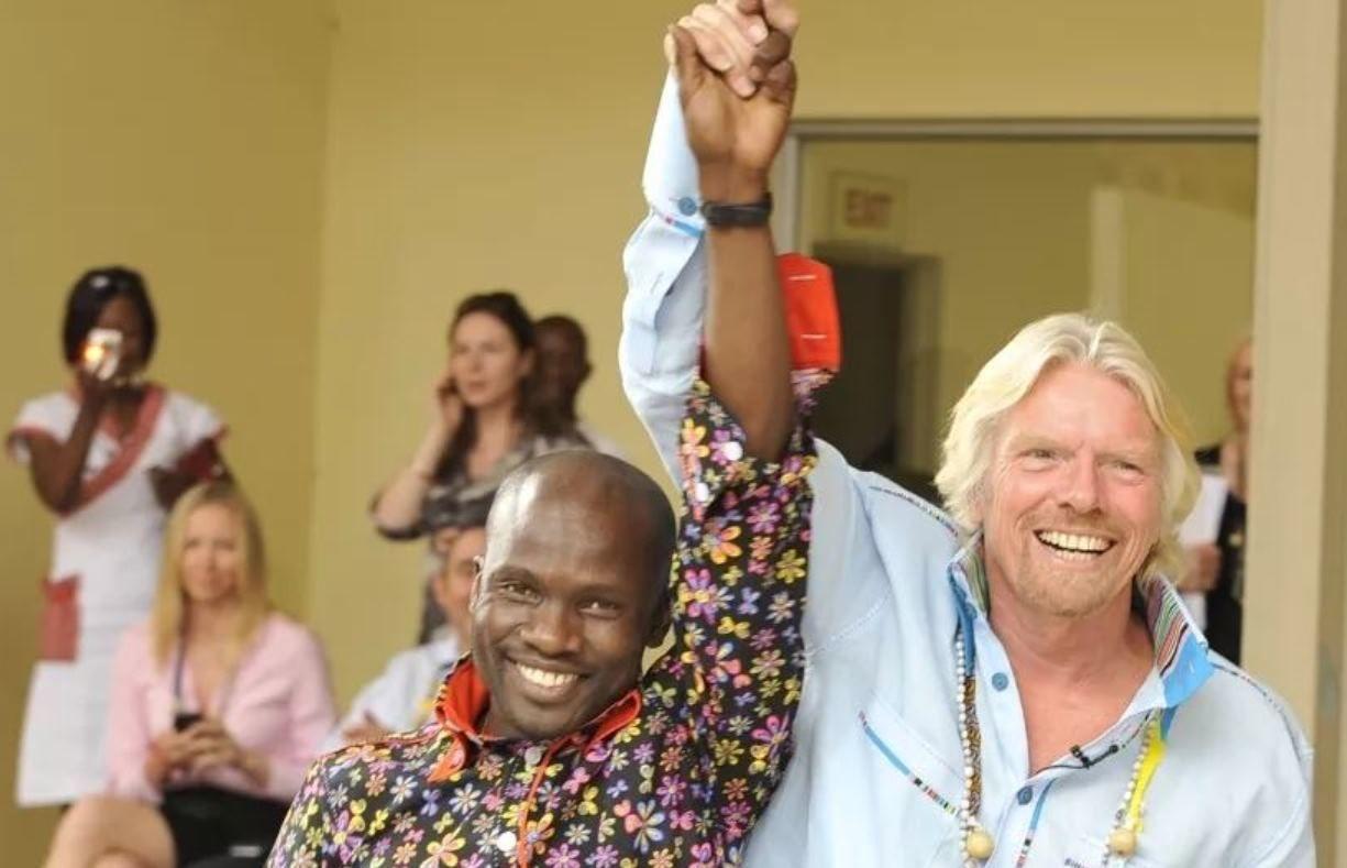 Richard Branson Virgin Unite