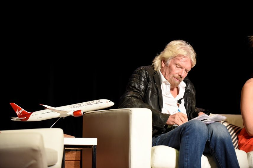 Richard Branson on Business is an adventure panel