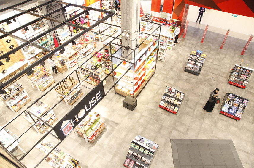 Virgin Megastore Yas Mall concept store
