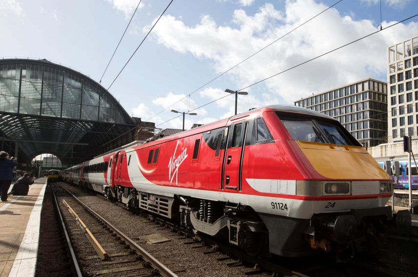 Virgin Trains East Coast Kings Cross