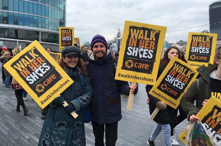 Unite, Nick Steel, Walk in Her Shoes, International Women's Day