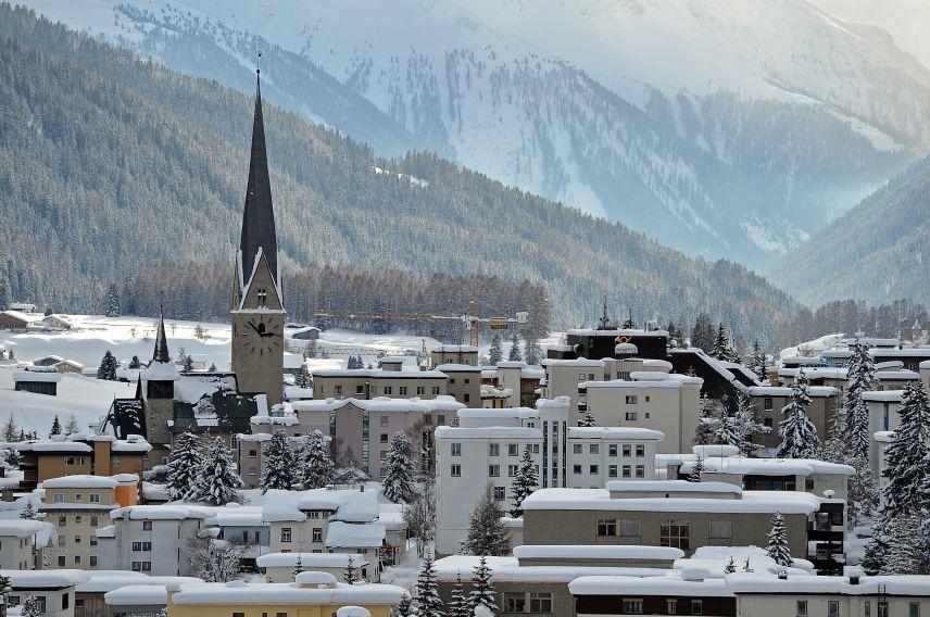 Davos city
