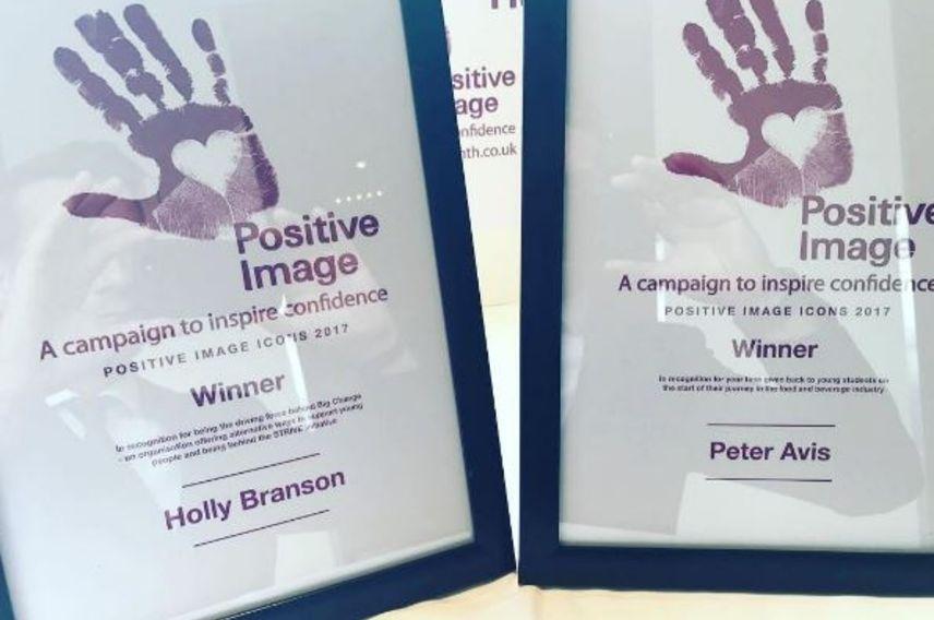 Holly Branson, positive image icon award