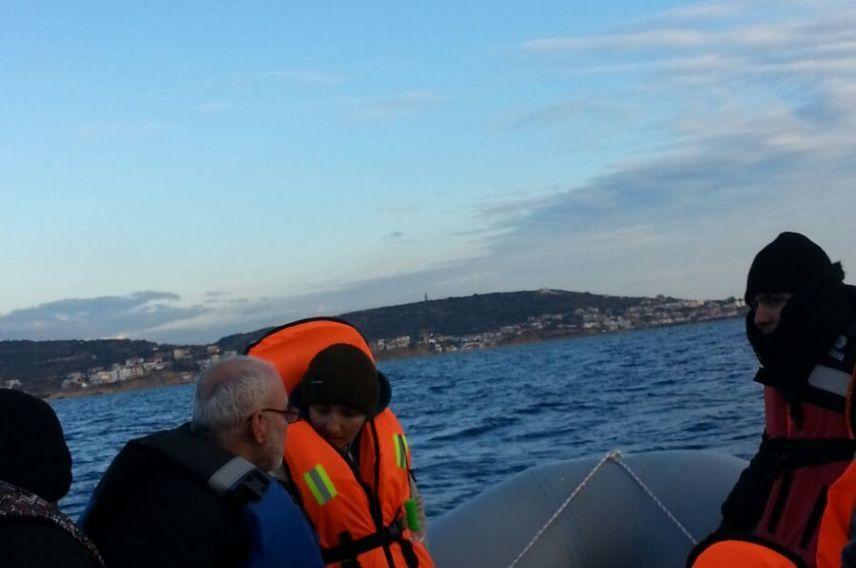 Syria Refugee Crisis, Boat, Virgin Unite