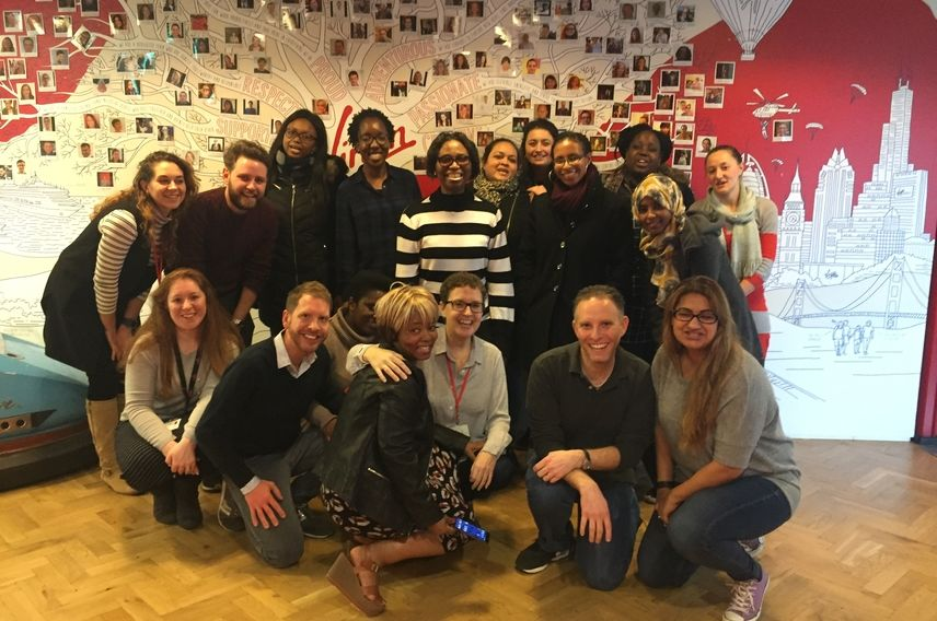 Virgin Unite, Refugees, VML workshop