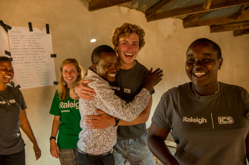 Virgin Unite, Volunteering, Raleigh International