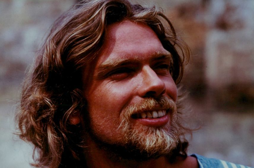 Richard Branson early days young
