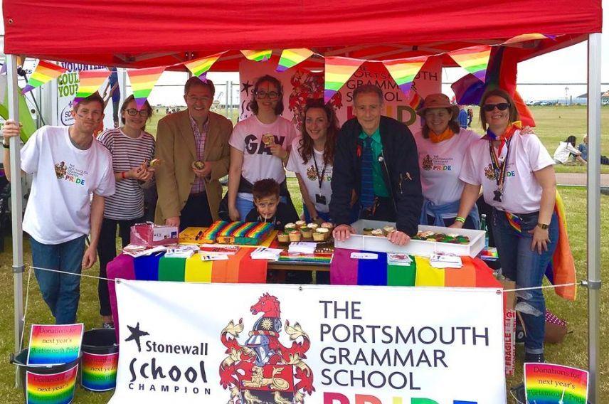 Virgin Unite, LGBT, Portsmouth Grammar School, Pride Society