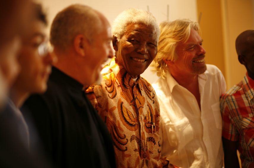 Virgin Unite, Nelson Mandela