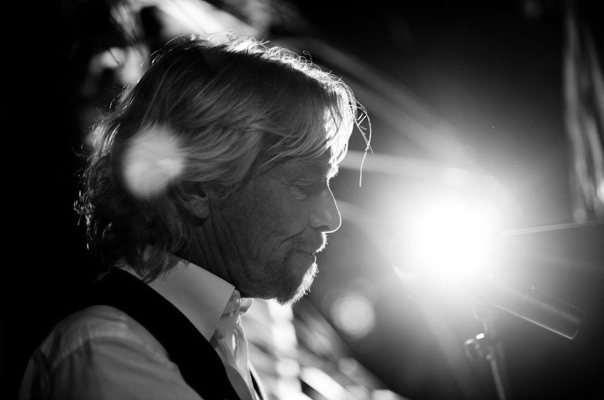 Richard Branson at Holly's wedding