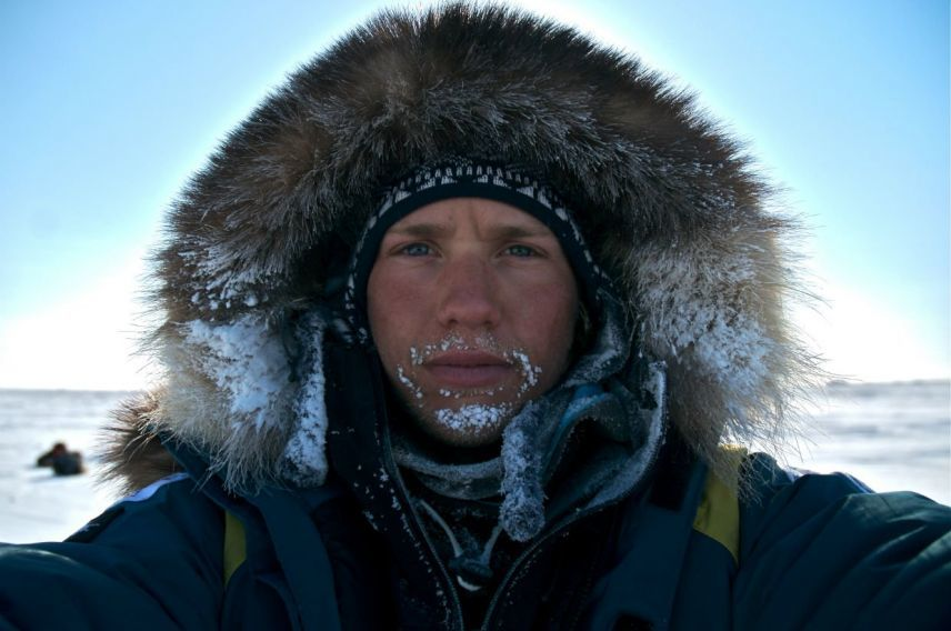 Sam Branson, adventure, Arctic2014