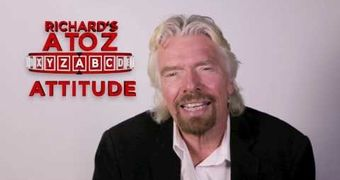 Richard Branson's A to Z: A is for Attitude