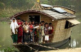Virgin Unite, Ashoka, floating classroomsVirgin Unite, sustainability, sustainia, floating classrooms