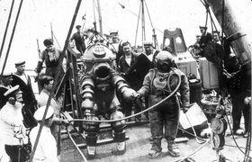 diving suit, David Lang, Ocean