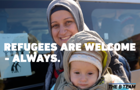 Virgin Unite, The B Team, Refugees