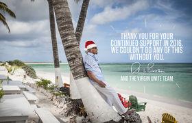 Virgin Unite, Richard Branson,Christmas photo quote