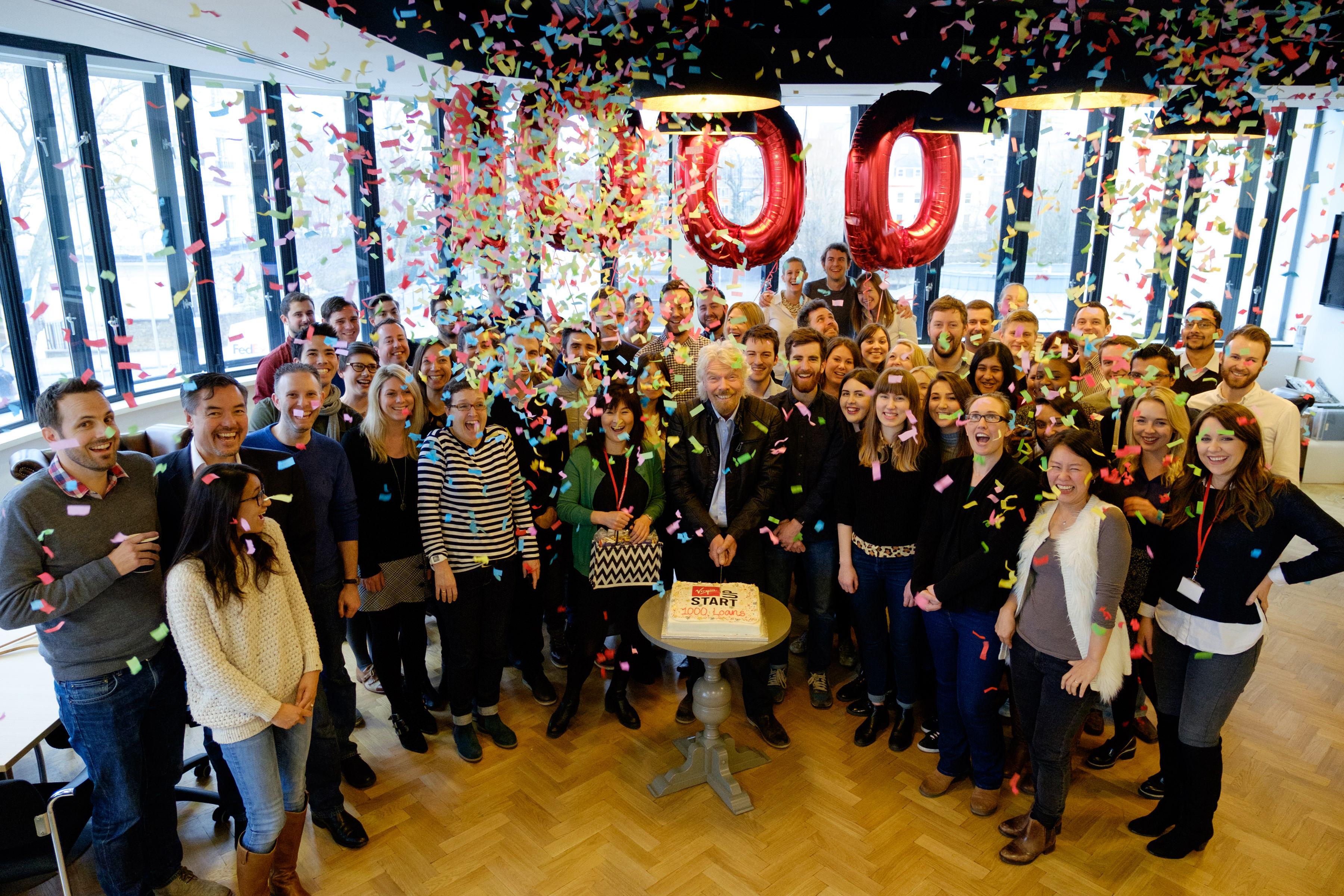 Richard Branson 1000 loans for UK start-ups