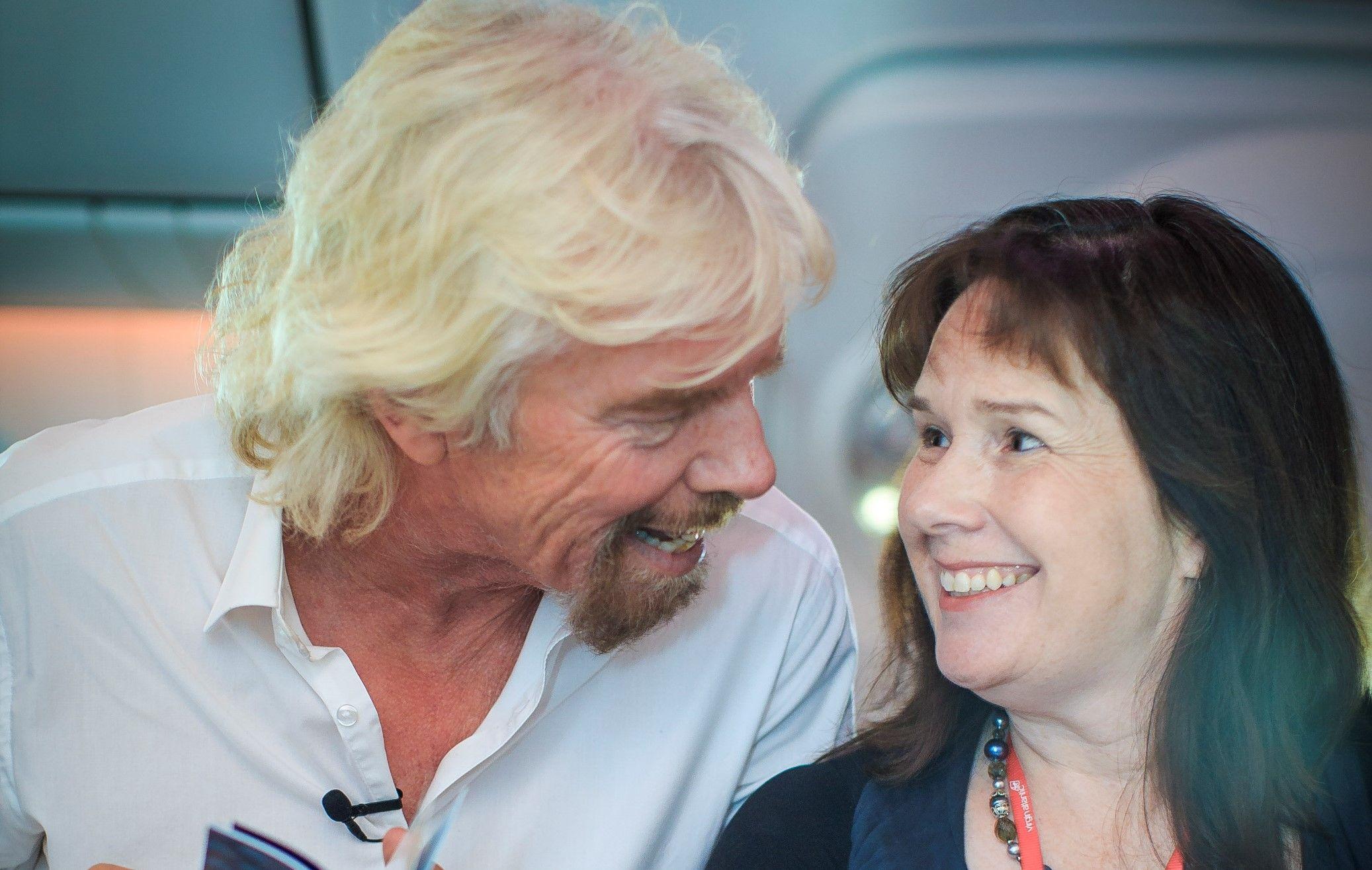 Richard Branson Virgin Atlantic Virgin StartUp