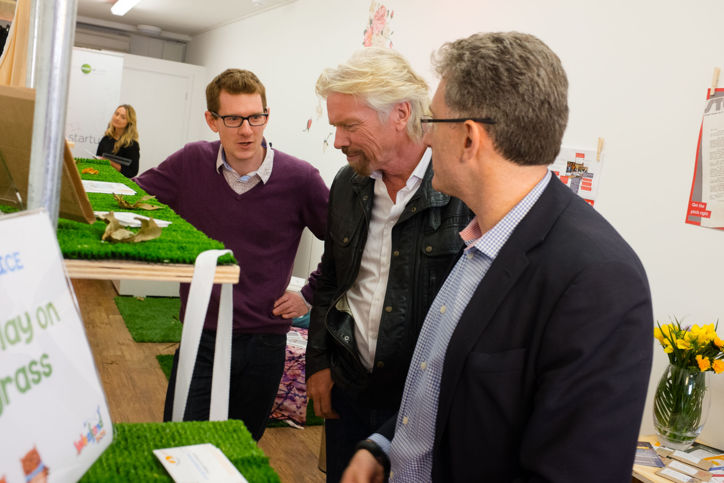 Richard Branson Virgin StartUp launch