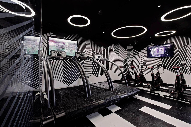 Virgin Active Walkbrook high altitude studio